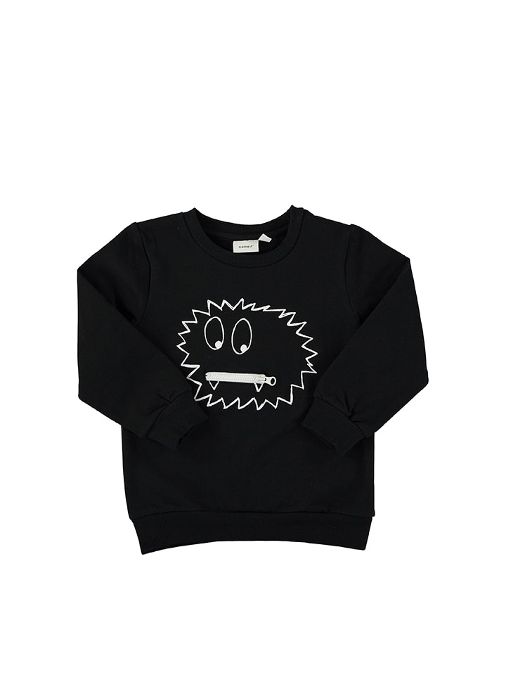 Name it Sweatshirt ´´Monster´´ in Schwarz - 52%...