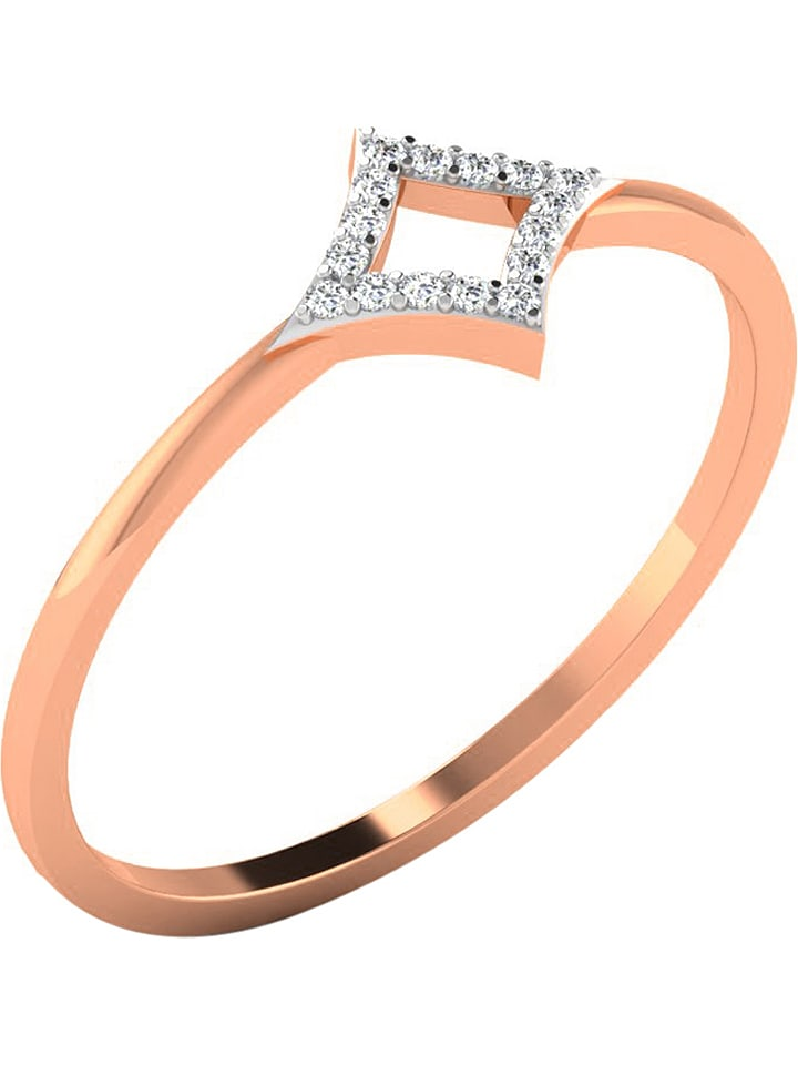 Art of Diamond Roségold-Ring mit Diamanten - 66...