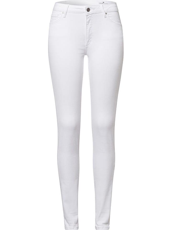 Cross Jeans Jeans Alan - Skinny fit - in Weiß - 63% | Größe W27/L32 | Damenjeans