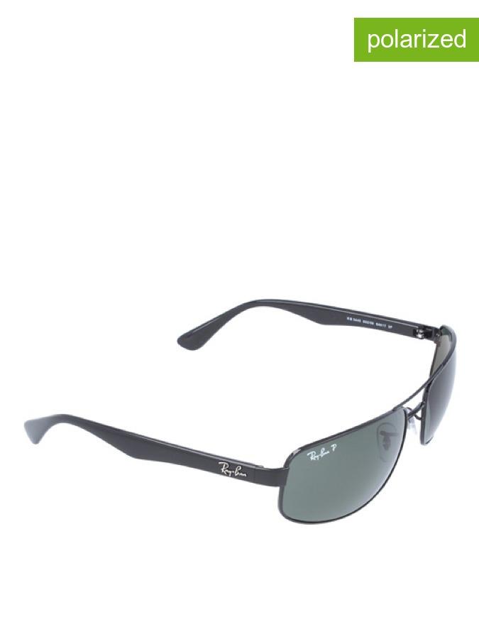 Ray Ban Herren-Sonnenbrille in Schwarz - 31% | Größe 61 Herren sonnenbrillen