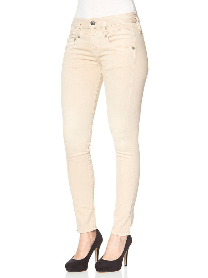 """Herrlicher Jeans """"Pitch"""" in creme"""