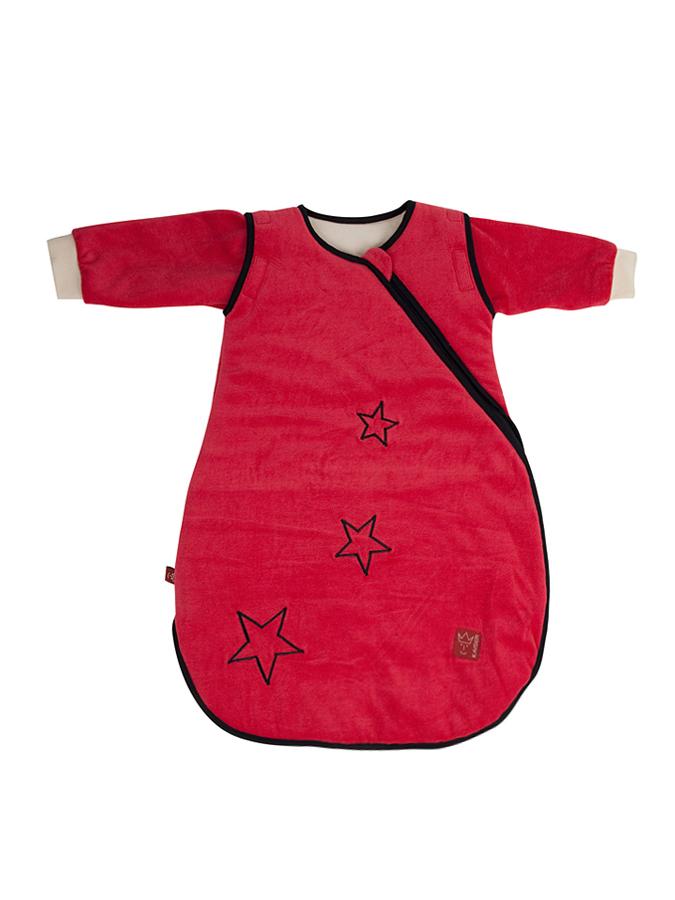 Briesen Angebote Kaiser Naturfellprodukte Ganzjahres-Schlafsack ´´Star sidezip´´ in Rot - 44% | Größe 110 cm Babyschlaf