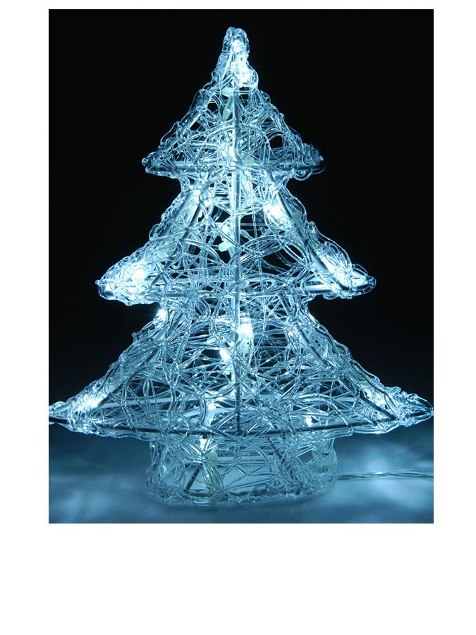 - LED-Tannenbaum in Weiß - (H)25 cm -44% | Weihnachtsschmuck