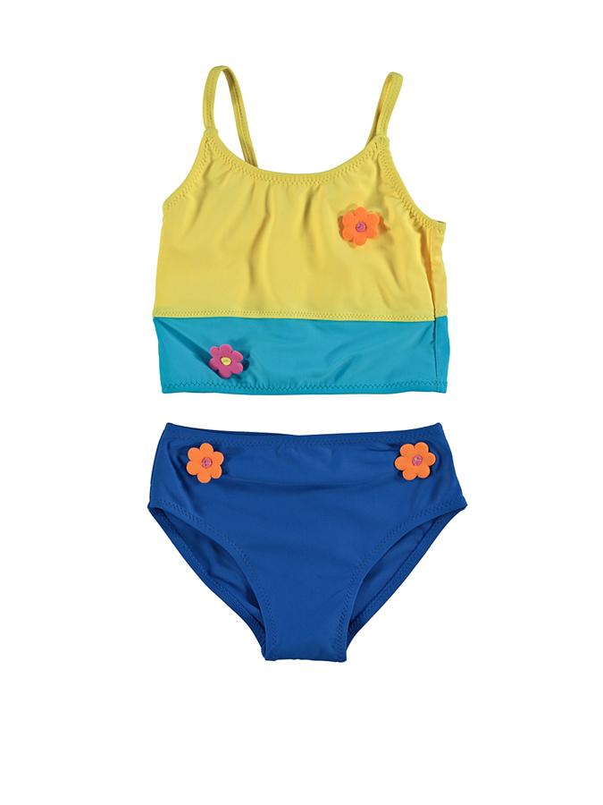 Needs Tankini in Blau/ Gelb -54% | Größe 116 | Bikini