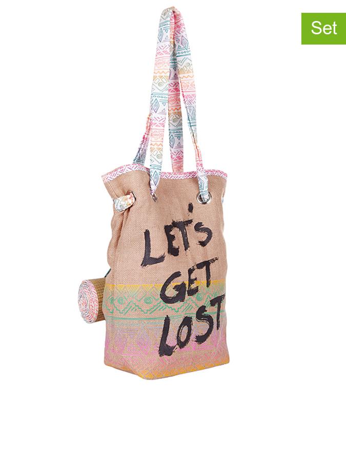 Chiemsee 2tlg. Strandtaschen-Set ´´Kathy´´ in b...