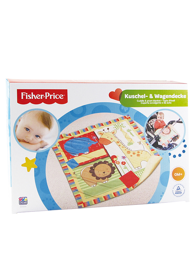 Fisher-Price Decke in Bunt - (B)78 x (L)78 cm -...