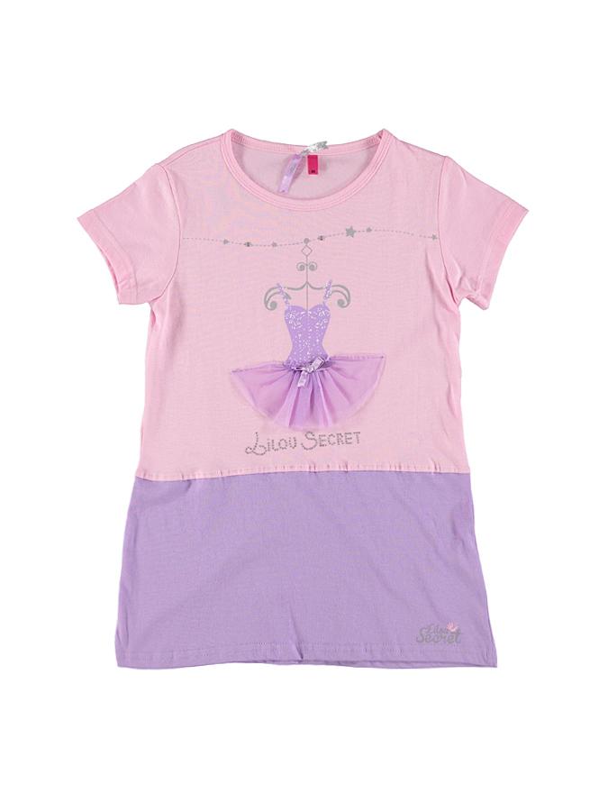 Lilou Secret Nachthemd in rosa -56 Größe 86 Nachtwäsche