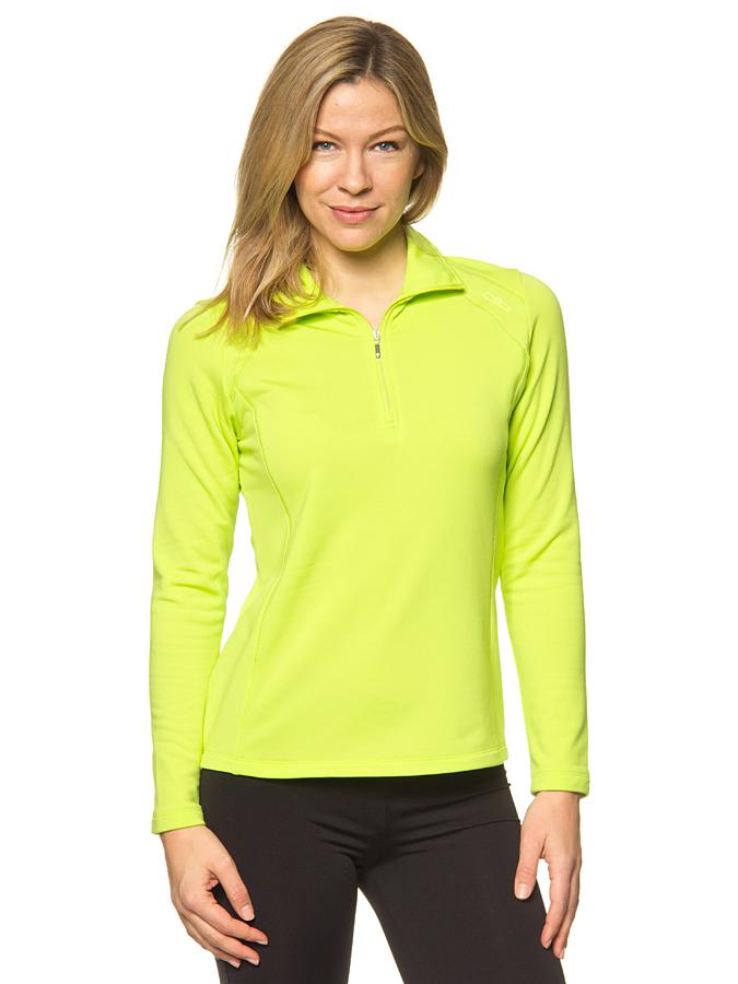 CMP Fleecetroyer in Neongrün -65% | Größe 40 Pullover Sale Angebote Schwarzheide