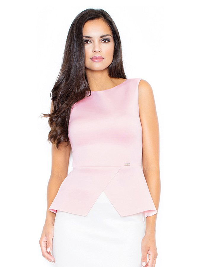 Figl Ärmellose Tops in rosa - 50% | Größe XL Damen tops - broschei