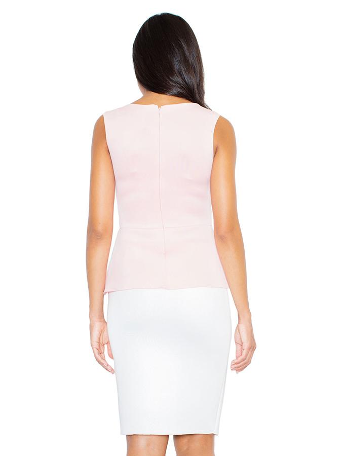 Figl Ärmellose Tops in rosa -50% | Größe XL