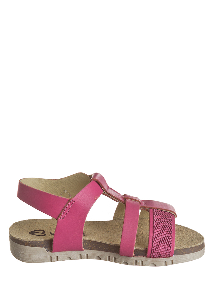 Billowy Leder-Sandalen in pink -75% | Größe 25 Sandalen