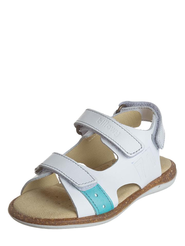 Billowy Leder-Sandalen in Weiß -74% | Größe 33 Sandalen