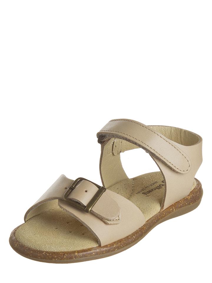 Billowy Leder-Sandalen in Beige - 68% | Größe 33 Kindersandalen jetztbilligerkaufen