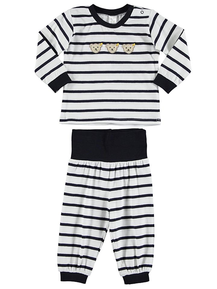 Steiff Pyjama in dunkelblau -39 Größe 68 Pyjamas