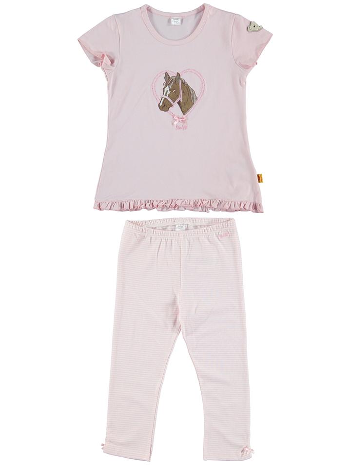 Steiff Pyjama in rosa -39 Größe 98 Pyjamas