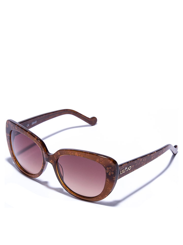 Liu Jo Damen-Sonnenbrille in Braun -49 Größe 54 Sonnenbrillen