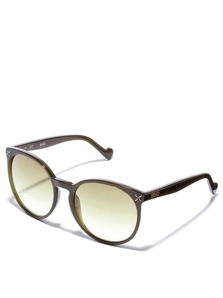 Liu Jo Damen-Sonnenbrille in Oliv -51 Größe 56 Sonnenbrillen