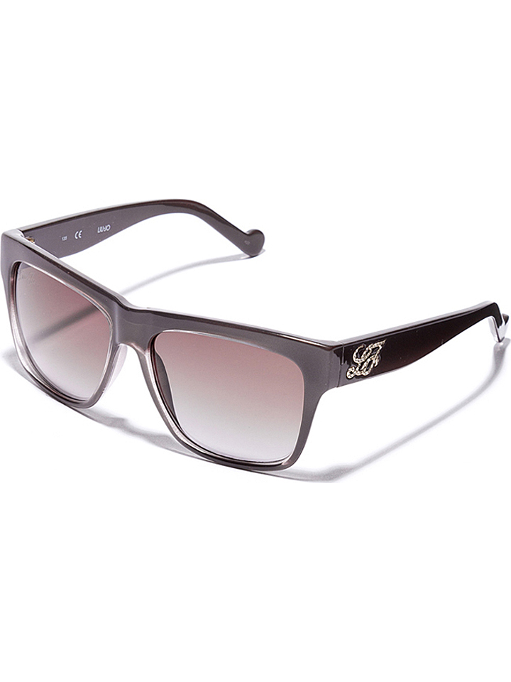 Liu Jo Damen-Sonnenbrille in Grau -51 Größe 56 Sonnenbrillen