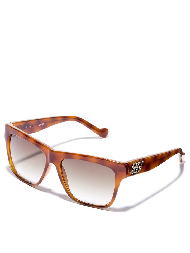 Liu Jo Damen-Sonnenbrille in Hellbraun -51 Größe 56 Sonnenbrillen