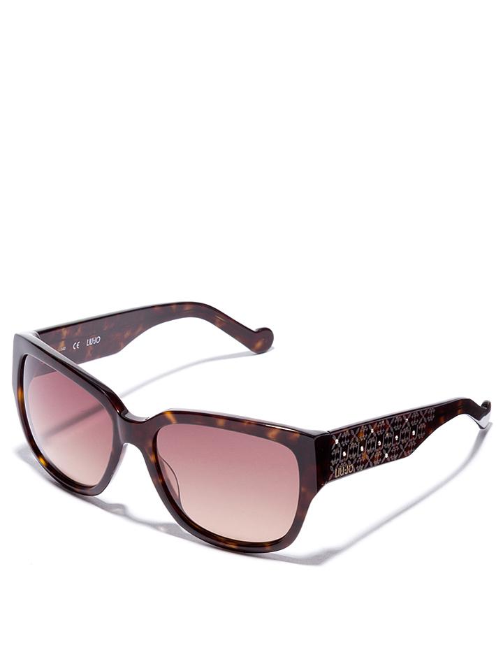 Liu Jo Damen-Sonnenbrille in Braun -48 Größe 56 Sonnenbrillen