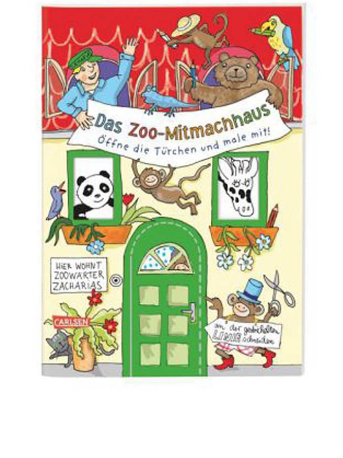 Carlsen Malbuch ´´Das Zoo-Mitmachhaus´´ - 30% |...