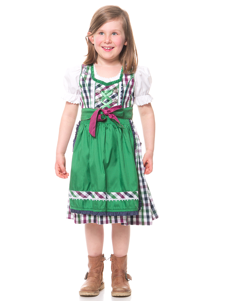 Groß Gaglow Angebote Lekra Dirndl ´´Fanny´´ in Weiß - 65% | Größe 104 Kinder dirndl