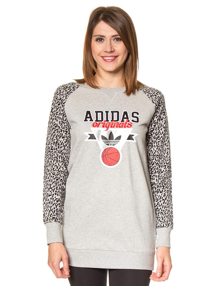 Adidas Sweatshirt in Grau - 63% | Größe 32 Damenpullover