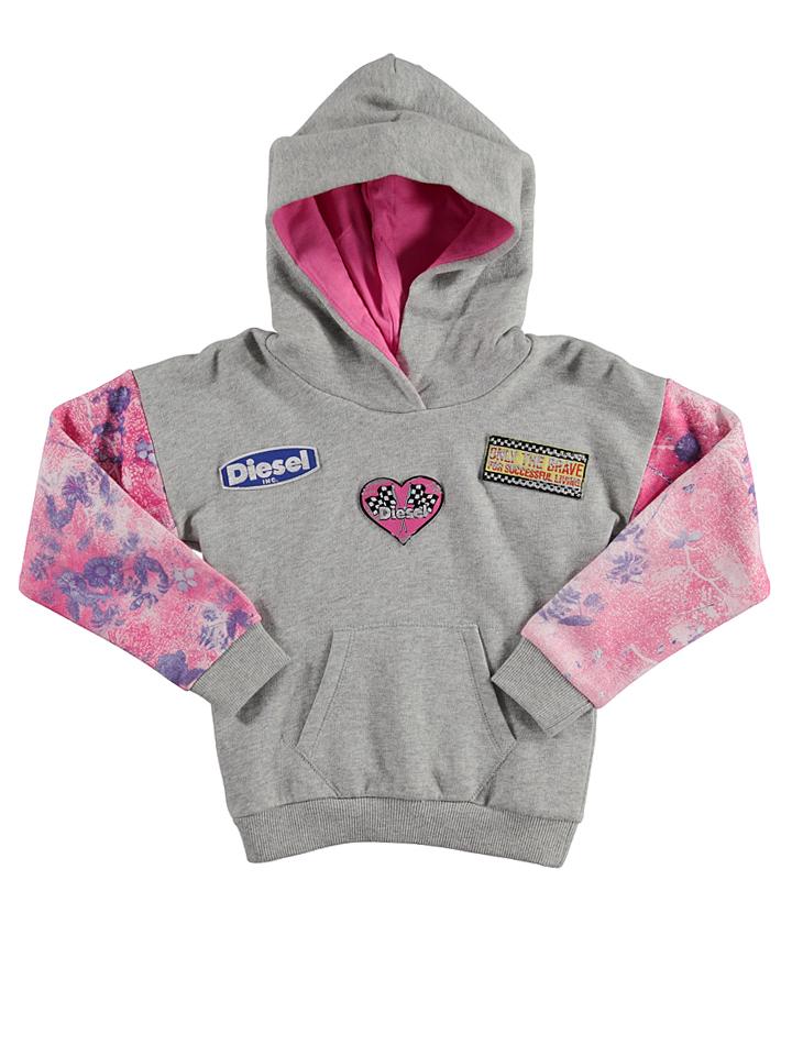 Diesel Kid Sweatshirt ´´Suelle Felpa´´ in grau -63% | Größe 164 Sweatshirts Sale Angebote Türkendorf