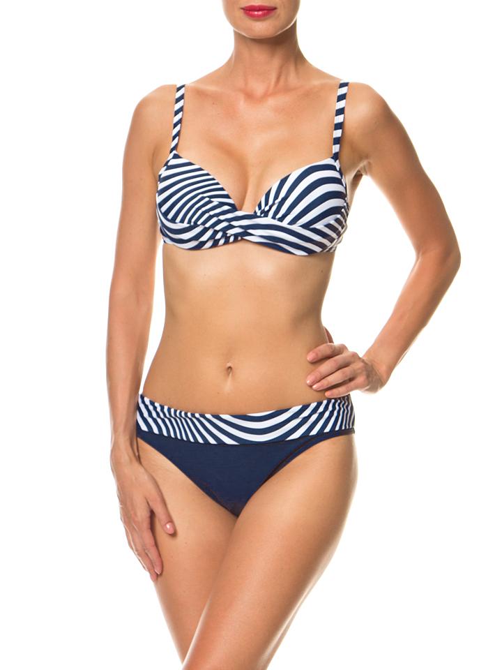 Manouxx Bikini in Dunkelblau - 61% | Größe 36C/D-Cup Damen bademode
