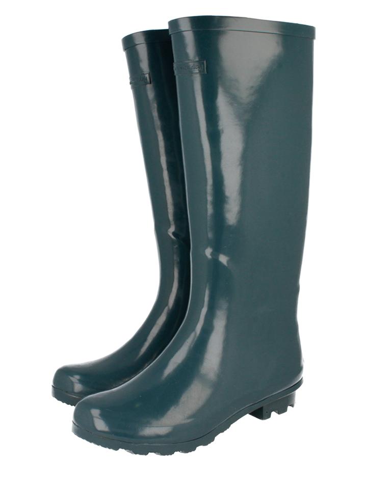 Gioseppo Gummistiefel Bristol in Petrol - 42% | Größe 36 | Damen outdoorschuhe