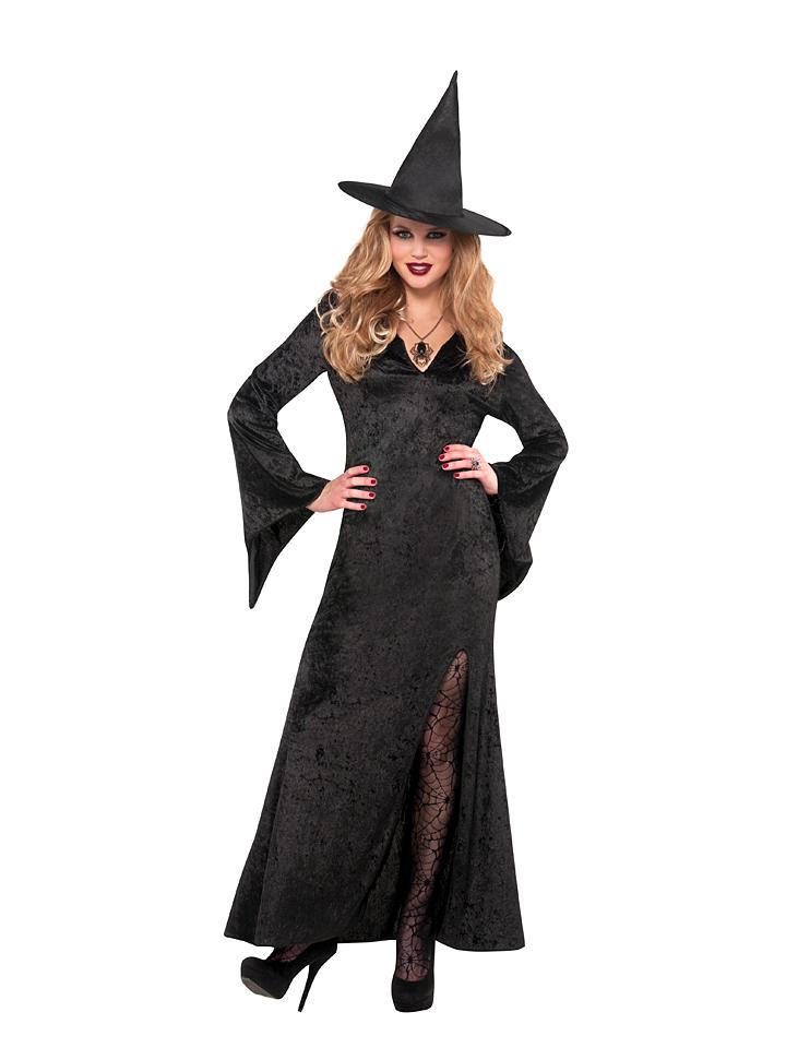 Amscan Kostümkleid ´´Witch Basic´´ in Schwarz - 56% | Faschingskostueme