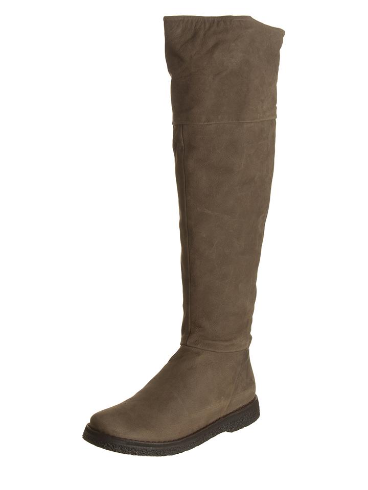 Geox Leder-Stiefel ´´Wilder´´ in Taupe - 65% | Größe 36 Damen stiefel