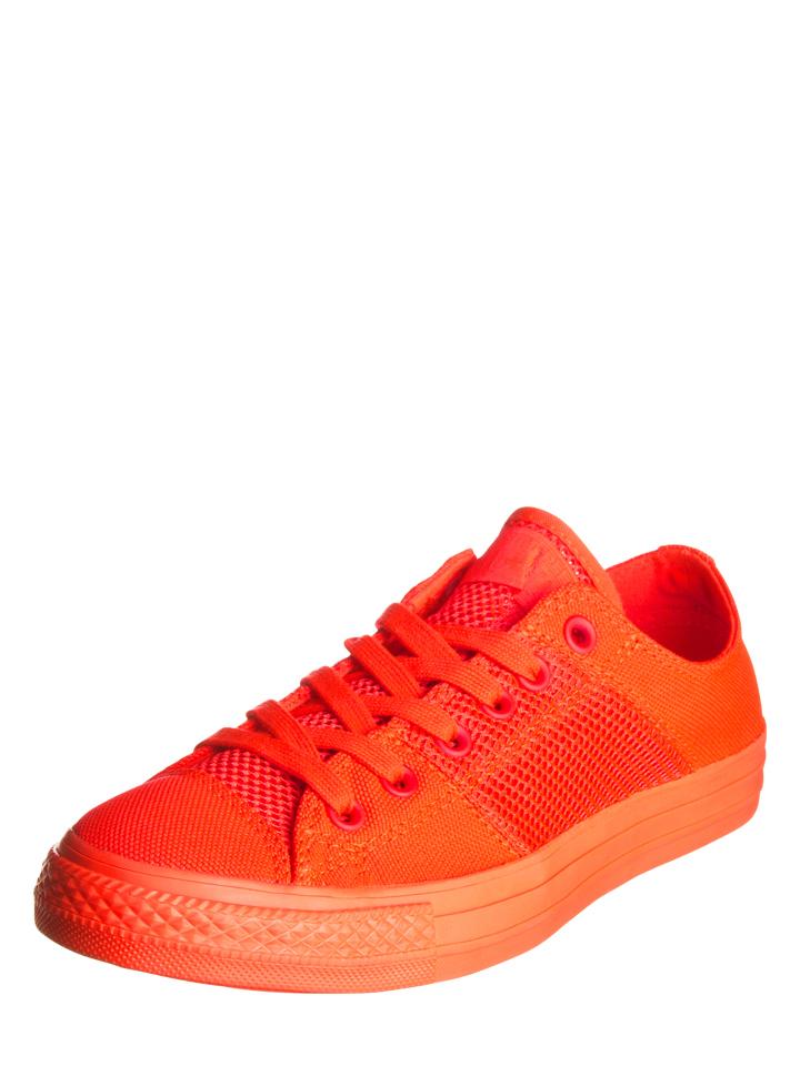 Converse Sneakers in Neonrot - 44% | Größe 45 Herrensneakers