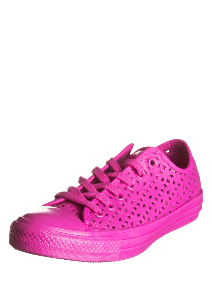 Converse Leder-Sneakers in Pink - 44% | Größe 36,5 Damen sneakers