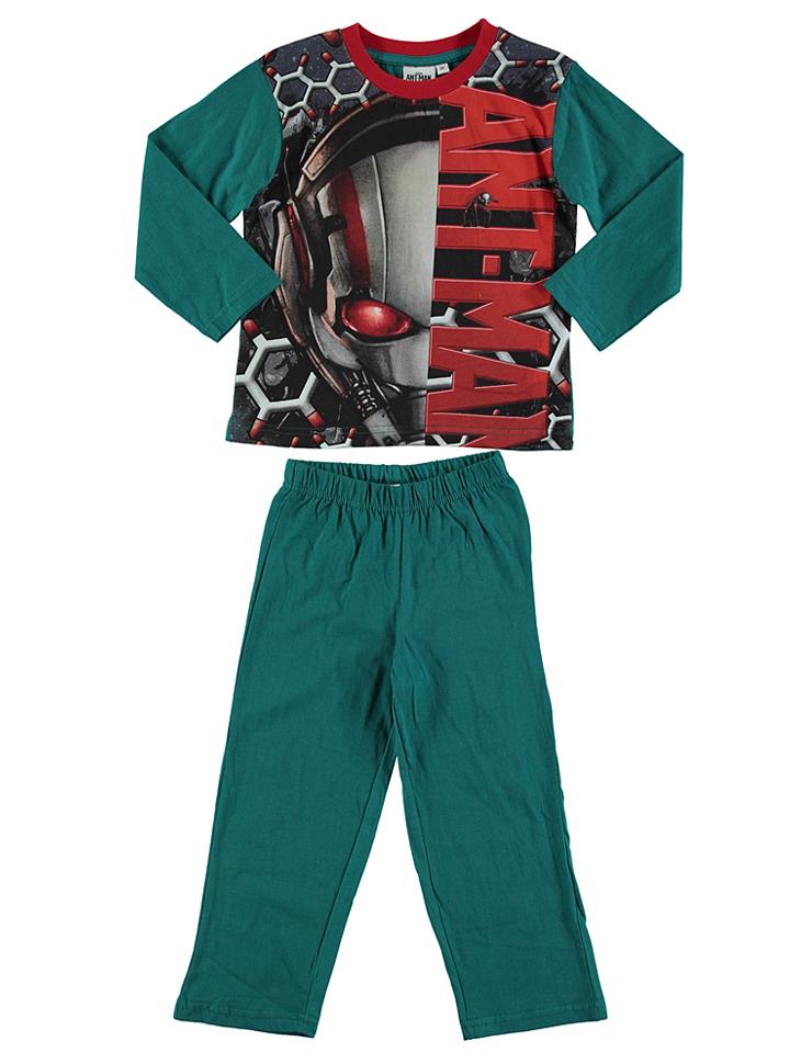 Ant-Man Pyjama ´´Ant Man´´ in Petrol Anthrazit -69 Größe 104 Pyjamas