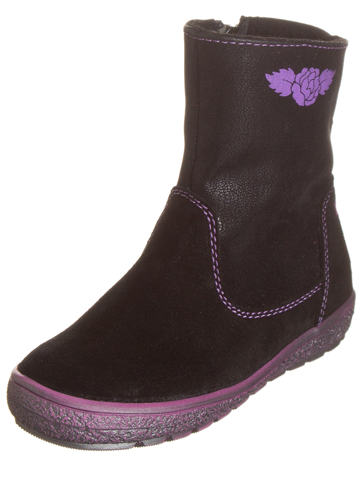 Lelli Kelly Leder-Boots in Schwarz -37%   Größe 35 Boots Sale Angebote Gastrose-Kerkwitz