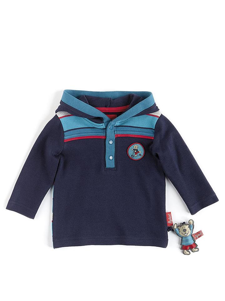 Sigikid Sweatshirt in Dunkelblau -52% | Größe 8...