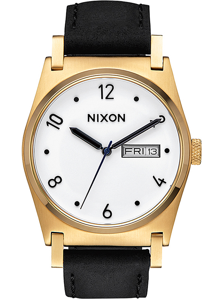 Nixon Quarzuhr in schwarz/ Weiß -35% | Uhren Sale Angebote Bagenz