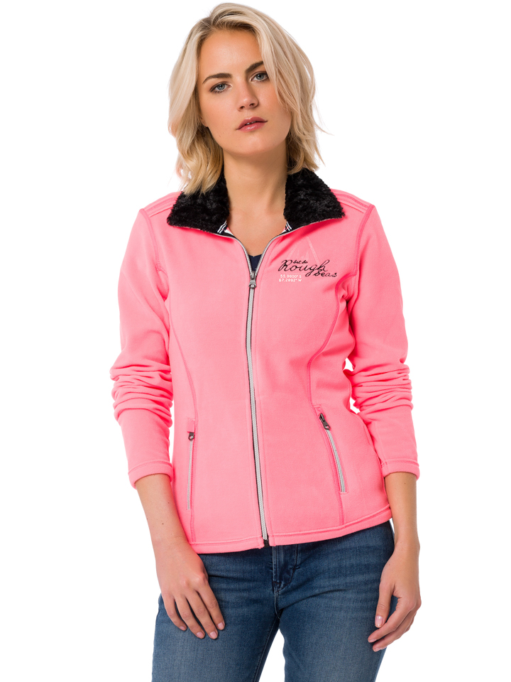 GAASTRA Fleecejacke ´´Finland Explore´´ - Regular fit - in Rosa - 64 Größe S Damen outdoorjacken