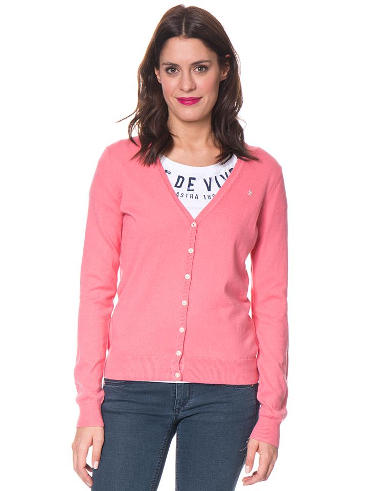 GAASTRA Cardigan ´´Royal Sea´´ - Regular fit in Rosa -63% | Größe M Cardigans Sale Angebote Tettau