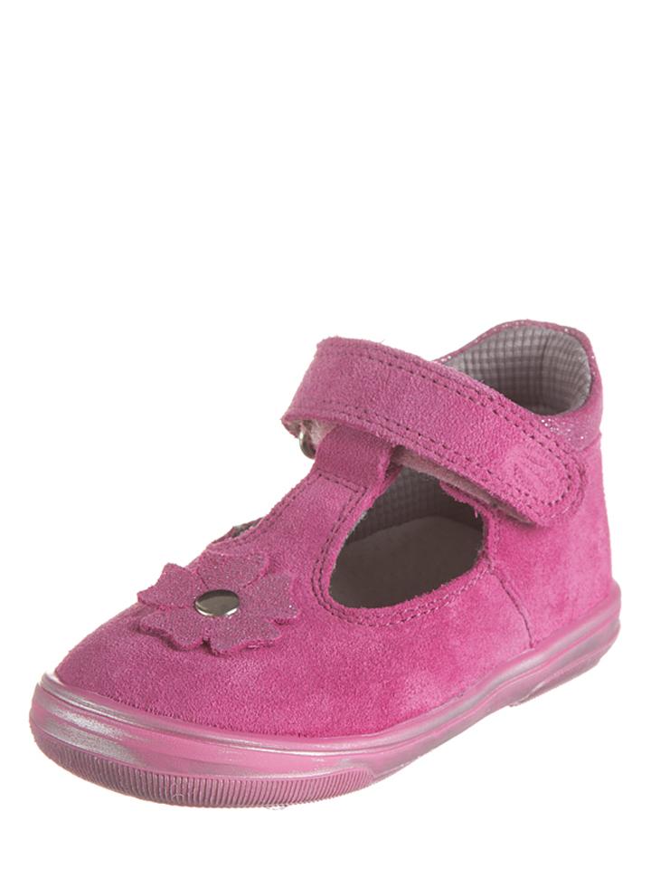 Richter Shoes Leder-Ballerinas in Rosa - 60% | Größe 26 Babysneakers