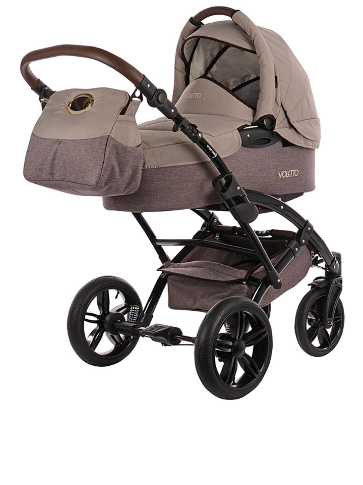 Knorr-Baby Kombi-Kinderwagen Voletto in Hellbraun -28%Kinderwagen