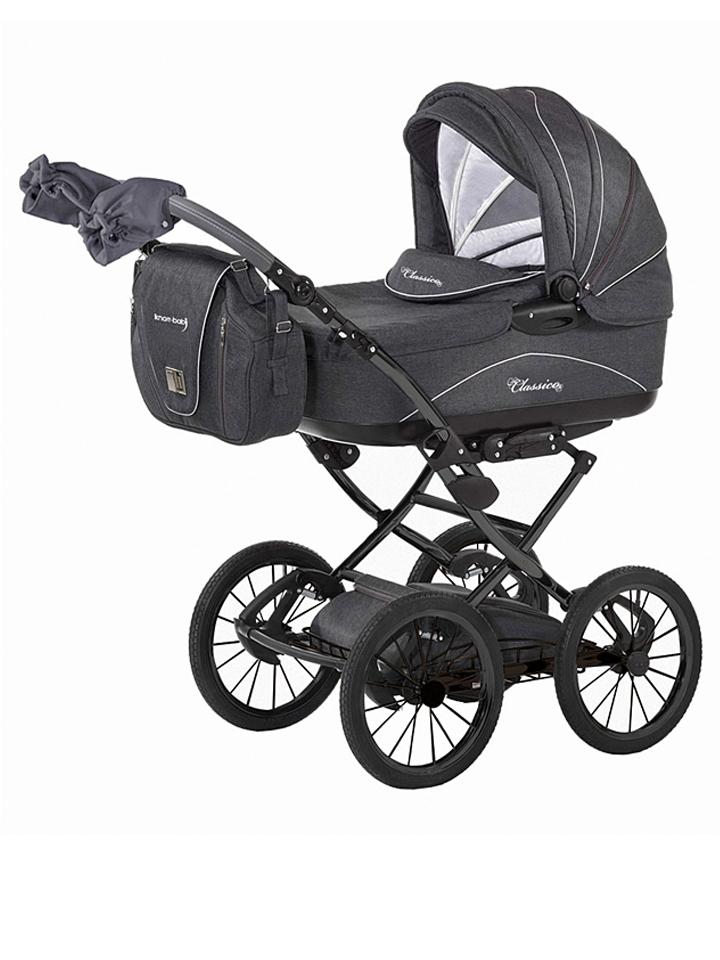 Knorr-Baby Kombi-Kinderwagen ´´Classico´´ in Grau -26%   Kinderwagen Sale Angebote Wiesengrund
