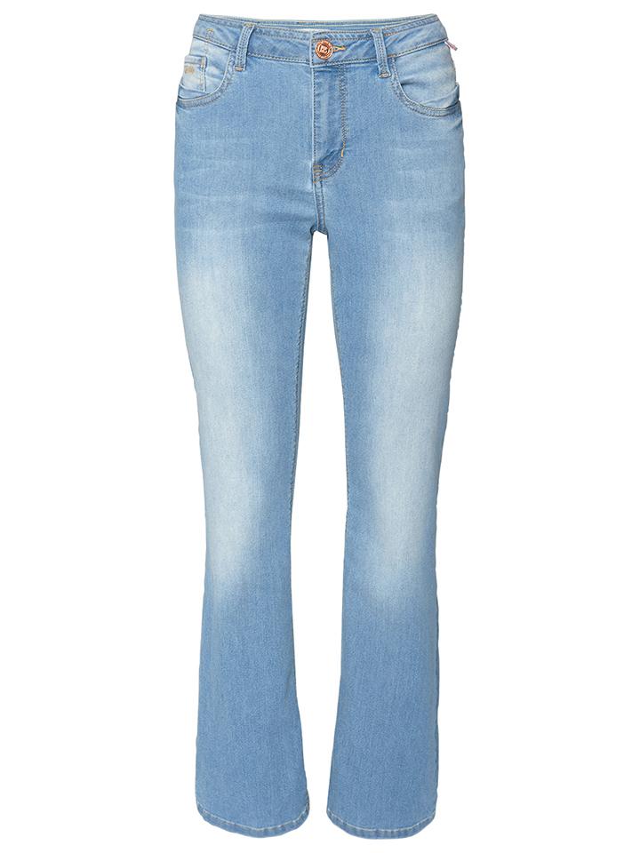 H.I.S Jeans ´´Marylin´´ - Comfort fit in Hellblau -56%   Größe 44/L31 Sale Angebote Gastrose-Kerkwitz