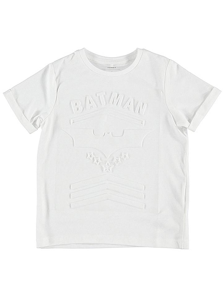 Name it Shirt ´´Batman´´ in Weiß - 61% | Größe 158/164 Kinder oberteile