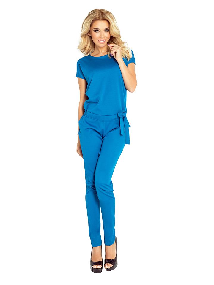 Numoco Jumpsuit in Blau - 74% | Größe XS Damenhosen jetztbilligerkaufen