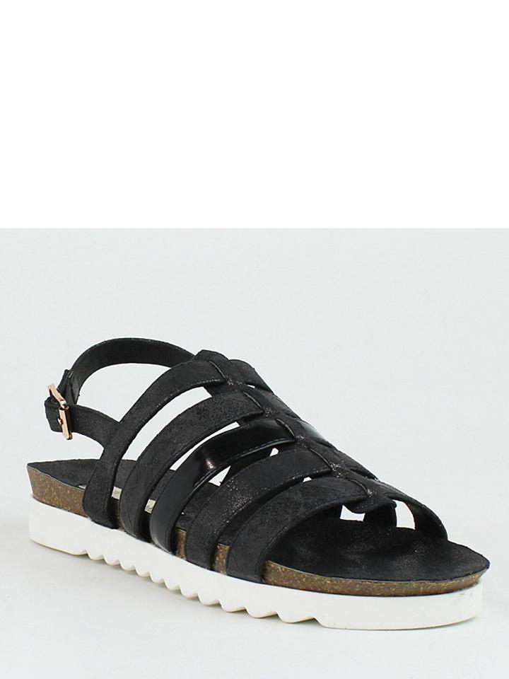 Xti Sandalen in Schwarz - 55% | Größe 38 Damen sandalen