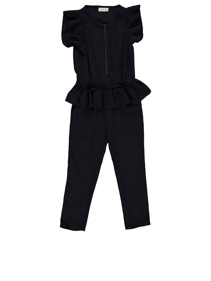 Name it Jumpsuit ´´Dida´´ in Dunkelblau -28%   Größe 152 Overalls & Jumpsuits Sale Angebote Hohenbocka