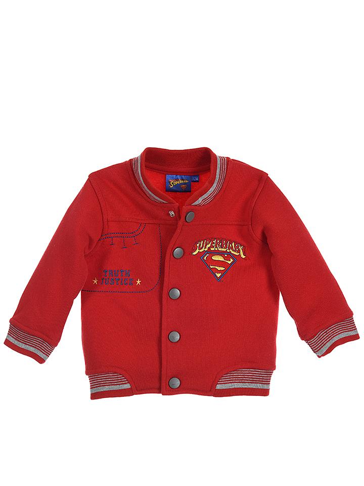 Batman 3tlg. Outfit in rot -45% | Größe 68 Sweatjacken Sale Angebote Horka