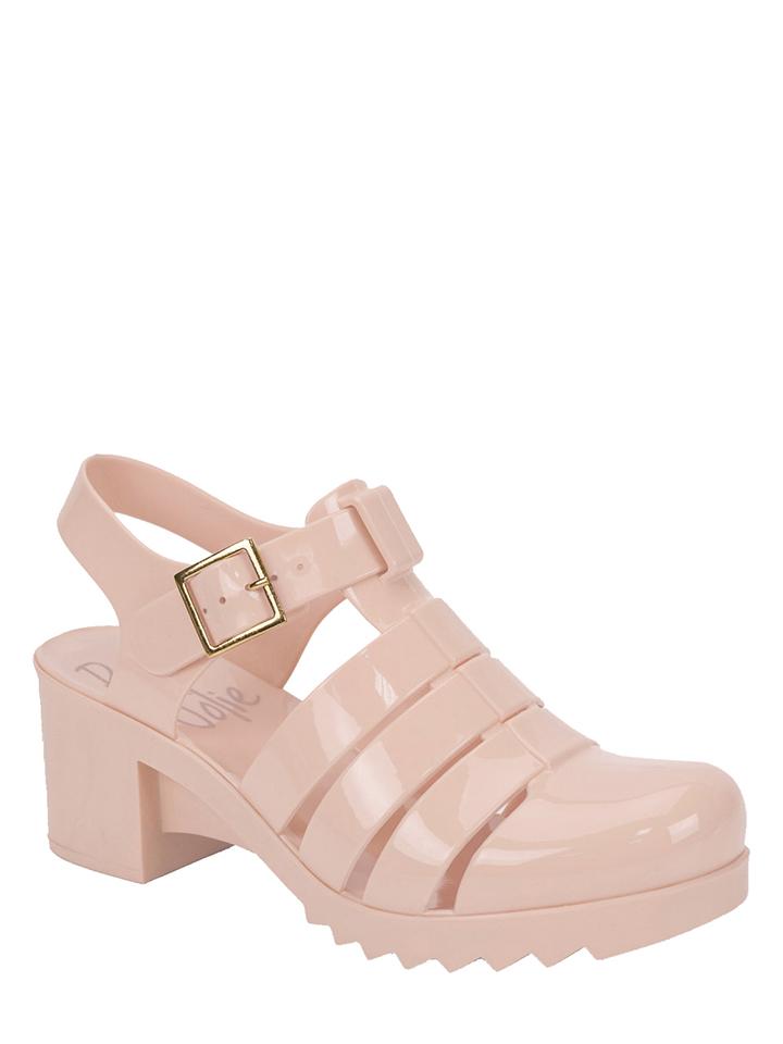 Petite Jolie Sandaletten in Nude - 70% | Größe 39 | Damen sandalen